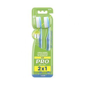 Pro Deluxe Cepillos Dentales 2 Unidades